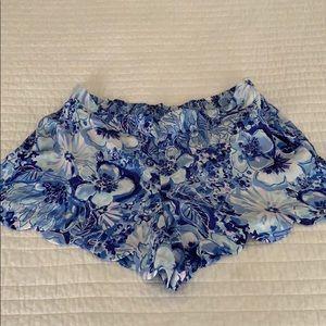 NWT Lilly Pulitzer Dahlia shorts XL